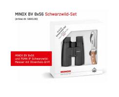 MINOX BV 8x56 Schwarzwild Set, Fernglas inkl. Puma IP...