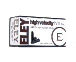 ELEY .22lr High Velocity Hollow