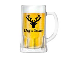 """Bierkrug """"Chef im Revier"""""""