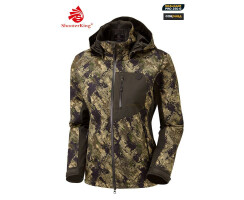 SHOOTERKING Huntflex Jacke Digital Camo Forest Mist Damen