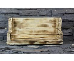 Gewürzboard geflammt Vintage Massivholz...