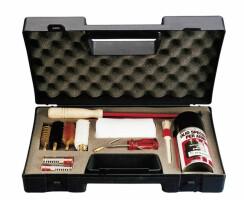Putzzeug- Set für Flinten 11- Teilig im Koffer