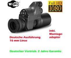 PARD NV007a Linse 16mm Wifi 850nm IR Nachsatzgerät...