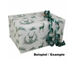 Geschenkpapier Tier- Motiv/ Landhausmotiv 100m Rolle