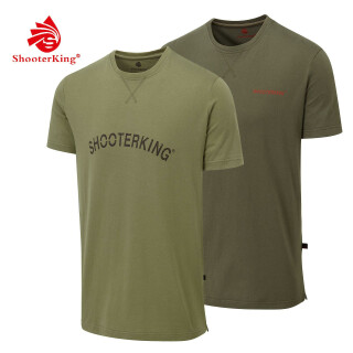 SHOOTERKING T-Shirt Outlander 2er Pack Gr. L(6)
