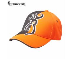 Browning Kappe Half Blaze orange/schwarz