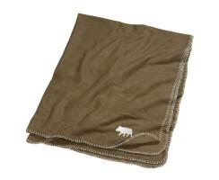 Fleece- Decke mit Keilermotiv